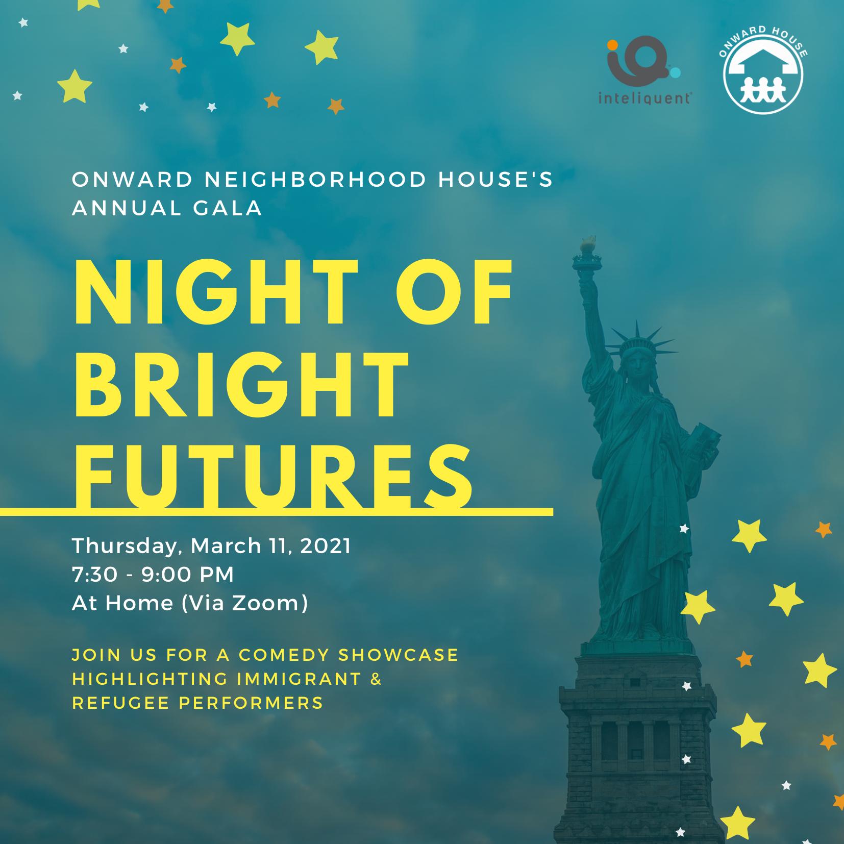 Night of Bright Futures Virtual Gala